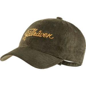 フェールラーベン 帽子 メンズ アクセサリー Cord Cap Deep Forest astyshop