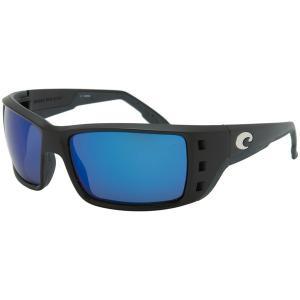 コスタ サングラス&アイウェア レディース アクセサリー Permit 580G Polarized Sunglasses Matte Black/Blue Mirror|astyshop