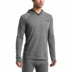 ノースフェイス Tシャツ メンズ トップス Warm Wool Blend Hoodie - Men's Tnf Medium Grey Heather astyshop