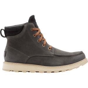 ソレル ブーツ&レインブーツ メンズ シューズ Madson II Moc Toe WP Boot - Men's Coal|astyshop