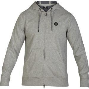 ハーレー パーカー・スウェットシャツ メンズ アウター Therma Protect  Full-Zip Fleece Hoodie - Men's Grey Heather|astyshop