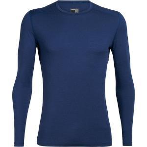 アイスブレーカー Tシャツ メンズ トップス 200 Oasis LS Crew Top - Men's Estate Blue astyshop