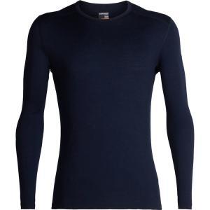 アイスブレーカー Tシャツ メンズ トップス 200 Oasis LS Crew Top - Men's Midnight Navy astyshop