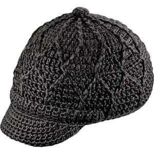 ピスタイル 帽子 レディース アクセサリー Jax Visor Beanie - Women's Black|astyshop