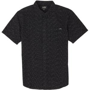 ビラボン シャツ メンズ トップス All Day Short-Sleeve Shirt - Men's Black|astyshop