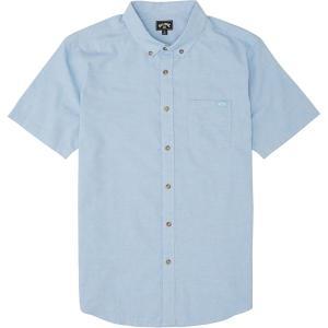 ビラボン シャツ メンズ トップス All Day Short-Sleeve Shirt - Men's Light Blue|astyshop