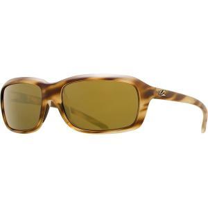 カエノン サングラス&アイウェア レディース アクセサリー Monterey Polarized Sunglasses - Women's Driftwood/Brown 12-Polarized Gold Mirror|astyshop