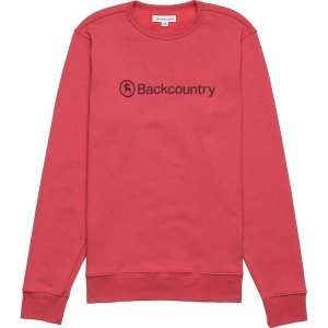 バックカントリー ニット、セーター メンズ アウター Long-Sleeve Crewneck Sweatshirt - Men's Vintage Red / Fig|astyshop