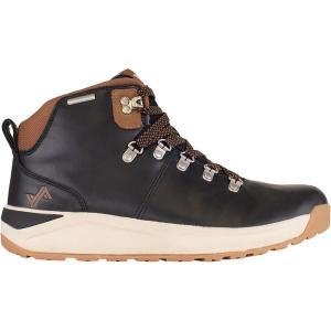 フォーセイク ブーツ&レインブーツ メンズ シューズ Halden Boot - Men's Black/Tan|astyshop