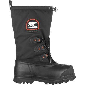 ソレル ブーツ&レインブーツ メンズ シューズ Glacier XT Boot - Men's Black/Red Quartz|astyshop