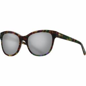 コスタ サングラス&アイウェア レディース アクセサリー Bimini 580G Polarized Sunglasses - Women's Shiny Abalone Frame/Gray 580G|astyshop