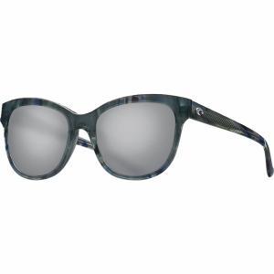 コスタ サングラス&アイウェア レディース アクセサリー Bimini 580G Polarized Sunglasses - Women's Shiny Ocean Current Frame/Gray 580G|astyshop