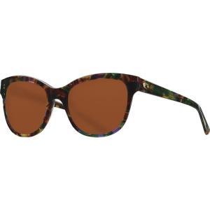コスタ サングラス&アイウェア レディース アクセサリー Bimini 580G Polarized Sunglasses - Women's Shiny Vintage Tortoise Frame/Copper|astyshop