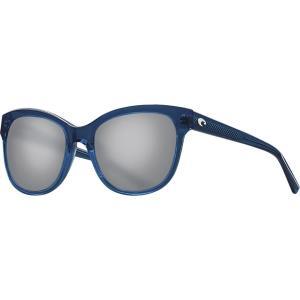 コスタ サングラス&アイウェア レディース アクセサリー Bimini 580G Polarized Sunglasses - Women's Shiny Deep Teal Crystal/Gray|astyshop