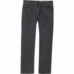 ボルコム デニム メンズ ボトムス Solver Denim Pant Dark Grey|astyshop