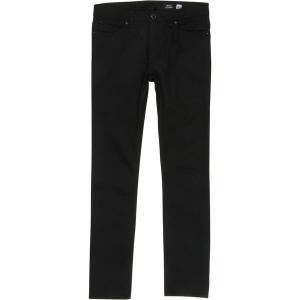 ボルコム カジュアル メンズ ボトムス Solver Denim Pant - Men's Black On Black|astyshop