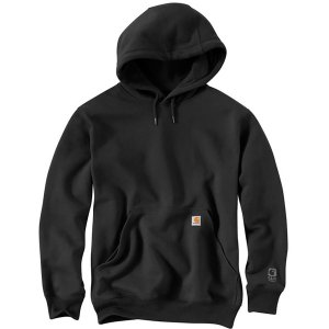 カーハート ニット、セーター メンズ アウター Rain Defender Paxton Heavyweight Pullover Hoodie Black|astyshop