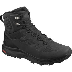 サロモン ブーツ&レインブーツ メンズ シューズ Outblast TS CS WP Boot - Men's Black/Black/Black|astyshop