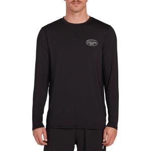 ボルコム シャツ メンズ トップス Lit Long-Sleeve Shirt - Men's Black|astyshop