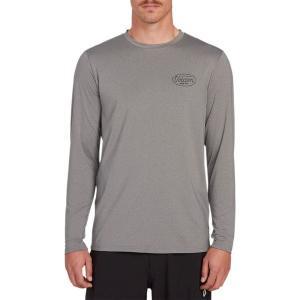 ボルコム シャツ メンズ トップス Lit Long-Sleeve Shirt - Men's Grey|astyshop