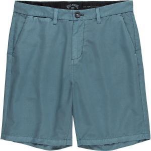 ビラボン ハーフ&ショーツ メンズ ボトムス New Order X Overdye Hybrid Short - Men's Washed Blue|astyshop