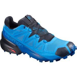 サロモン スニーカー メンズ シューズ Speedcross 5 GTX Trail Running Shoe - Men's Blue Aster/Lapis Blue/Navy Blazer astyshop