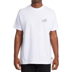 ビラボン シャツ メンズ トップス Surf Tour T-Shirt - Men's White|astyshop