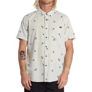 ビラボン シャツ メンズ トップス Sundays Mini Short-Sleeve Shirt - Men's Stone|astyshop