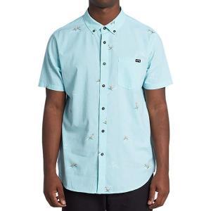 ビラボン シャツ メンズ トップス Sundays Mini Short-Sleeve Shirt - Men's Light Aqua|astyshop