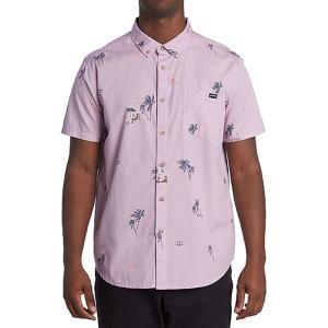 ビラボン シャツ メンズ トップス Sundays Mini Short-Sleeve Shirt - Men's Pink Haze|astyshop