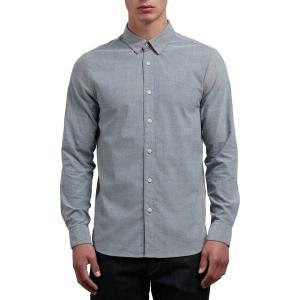 ボルコム シャツ メンズ トップス Oxford Stretch Shirt - Men's Black|astyshop