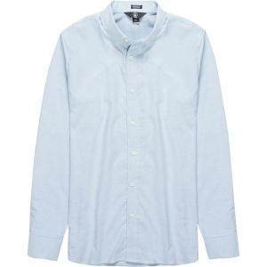 ボルコム シャツ メンズ トップス Oxford Stretch Shirt - Men's Wrecked Indigo|astyshop