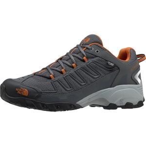 ノースフェイス スニーカー メンズ シューズ Ultra 109 Waterproof Trail Running Shoe Zinc Grey/Burnt Orange astyshop