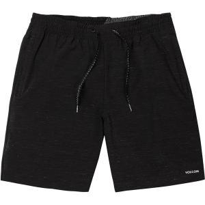 ボルコム ハーフ&ショーツ メンズ ボトムス Packasack Lite 19in Hybrid Short - Men's Black|astyshop