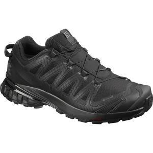 サロモン スニーカー メンズ シューズ XA Pro 3D V8 GTX Trail Running Shoe - Men's Black/Black/Black astyshop