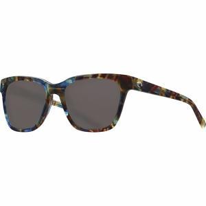コスタ サングラス&アイウェア レディース アクセサリー Coquina 580G Polarized Sunglasses - Women's Shiny Ocean Tortoise Frame/Gray 580G|astyshop