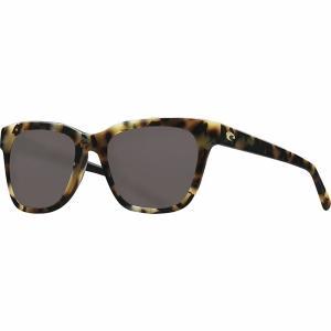 コスタ サングラス&アイウェア レディース アクセサリー Coquina 580G Polarized Sunglasses - Women's Shiny Vintage Tortoise Frame/Gray 580G|astyshop