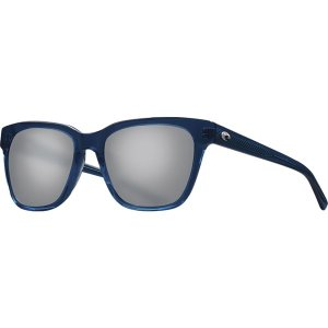 コスタ サングラス&アイウェア レディース アクセサリー Coquina 580G Polarized Sunglasses - Women's Shiny Deep Teal Crystal Frame/Gray|astyshop