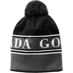 カナダグース 帽子 レディース アクセサリー Pom Toque BK|astyshop