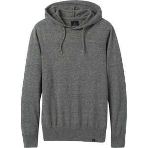 プラーナ ニット、セーター メンズ アウター Kaola Hooded Sweater - Men's Grey Heather|astyshop