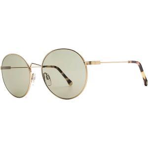 エレクトリック サングラス&アイウェア レディース アクセサリー Hampton Sunglasses - Women's Light Gold/Vintage Green|astyshop