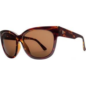 エレクトリック サングラス&アイウェア レディース アクセサリー Danger Cat Polarized Sunglasses - Women's Gloss Tort/Ohm Polar Bronze|astyshop