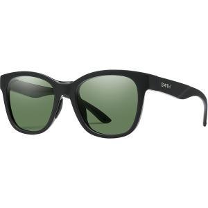 スミス サングラス&アイウェア レディース アクセサリー Caper Chromapop Polarized Sunglasses - Women's Matte Black/Polarized Gray Green|astyshop