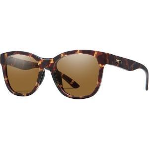 スミス サングラス&アイウェア レディース アクセサリー Caper Chromapop Polarized Sunglasses - Women's Matte Tortoise/Polarized Brown|astyshop