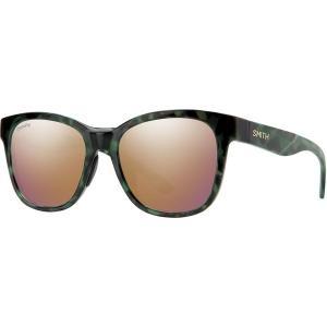 スミス サングラス&アイウェア レディース アクセサリー Caper Chromapop Polarized Sunglasses - Women's Camo Tortoise Frame/Rose Gold Polarized|astyshop