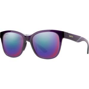 スミス サングラス&アイウェア レディース アクセサリー Caper Chromapop Polarized Sunglasses - Women's Crystal Midnight/Violet Mirror Polarized|astyshop