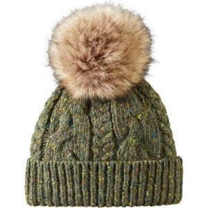 ペンドルトン 帽子 レディース アクセサリー Cable Hat - Women's Green|astyshop