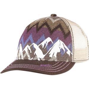 ピスタイル 帽子 レディース アクセサリー McKinley Trucker Hat - Women's Brown|astyshop