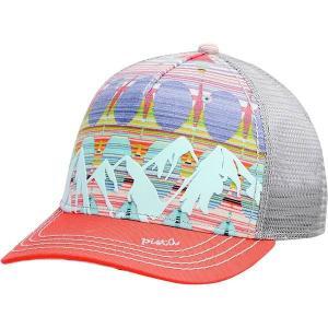 ピスタイル 帽子 レディース アクセサリー McKinley Trucker Hat - Women's Coral|astyshop