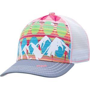 ピスタイル 帽子 レディース アクセサリー McKinley Trucker Hat - Women's Persimmon|astyshop